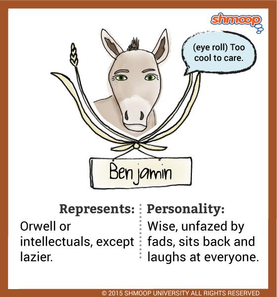 Benjamin Quotes Animal Farm Movie Qvt Coin Zoo Zoozier
