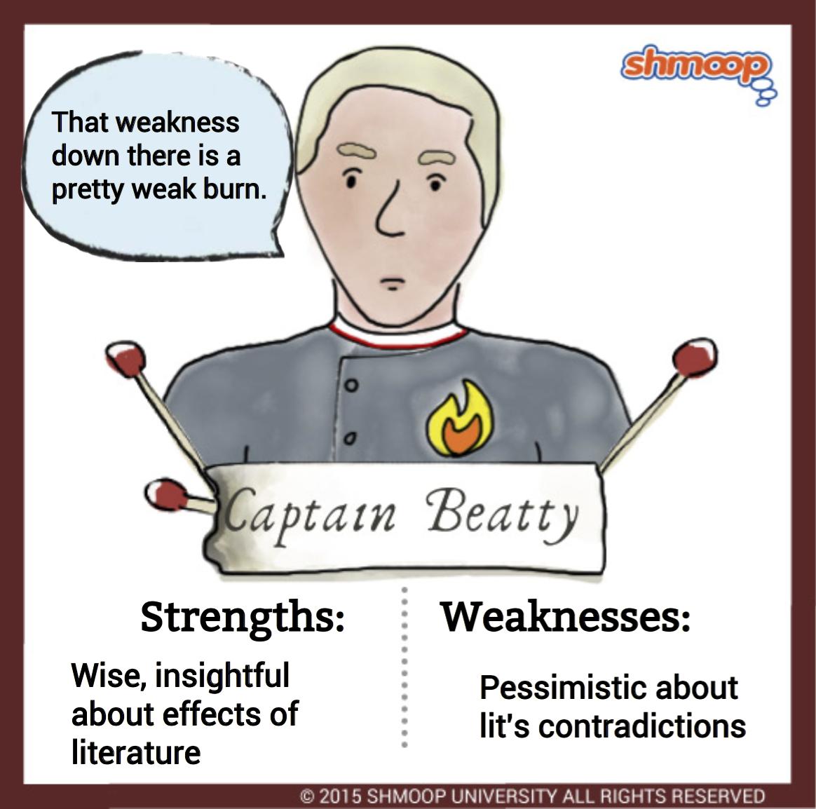 Quotes From Fahrenheit 451: Captain Beatty In Fahrenheit 451