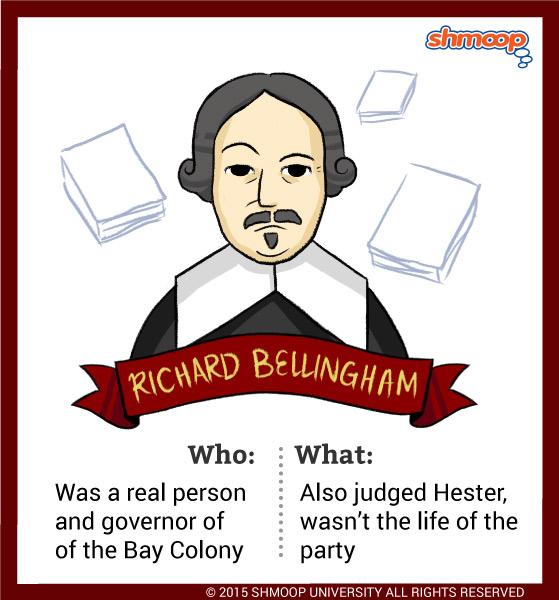 Roger Chillingworth Quotes: Governor Richard Bellingham In The Scarlet Letter