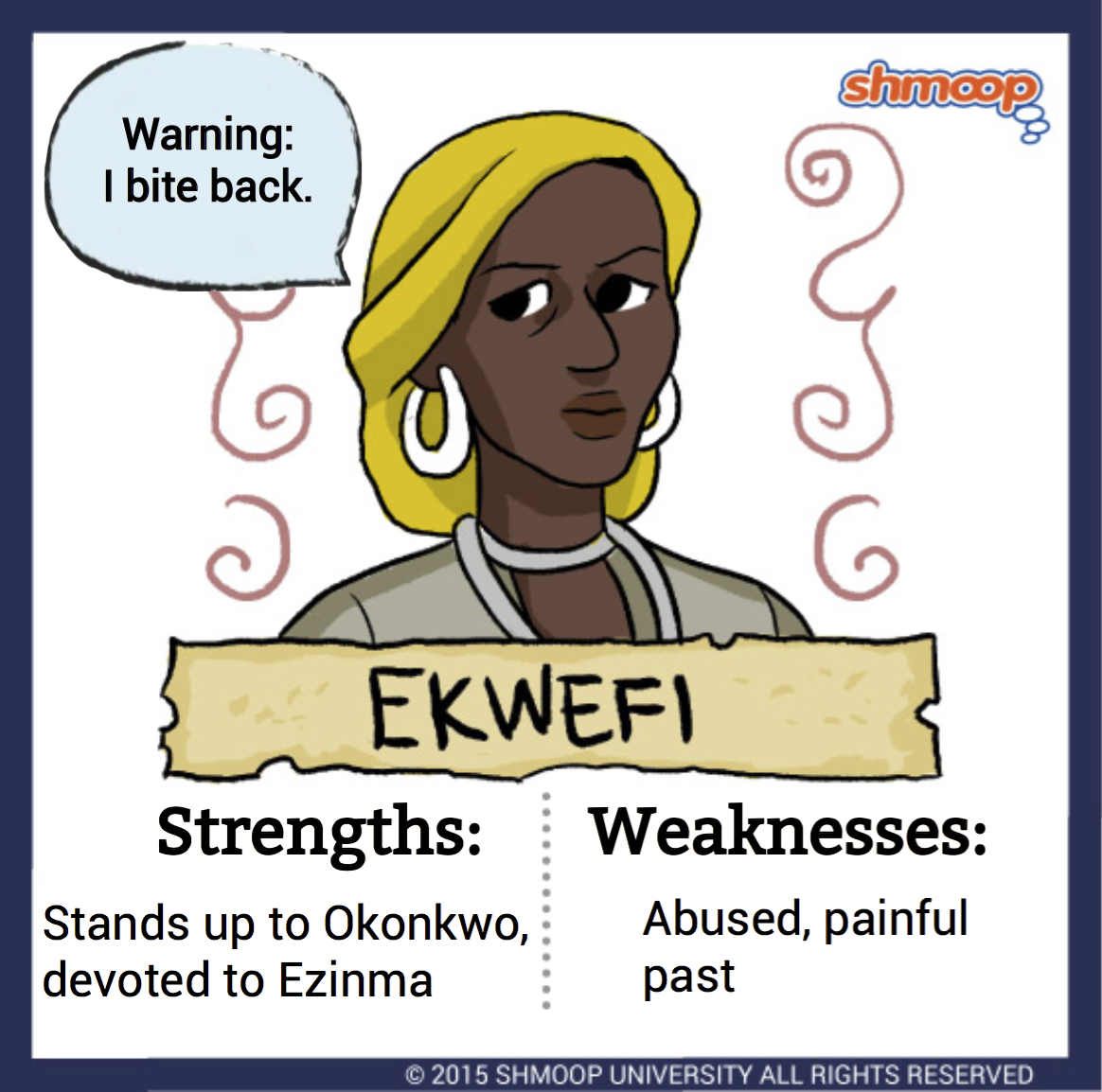 Ekwefi In Things Fall Apart
